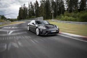 [Vídeo] Así fue el récord del Porsche Panamera en Nürburgring: 7:29.81