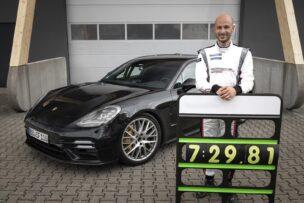 ¡Nuevo récord en Nürburgring!: El Porsche Panamera es el más rápido de su clase