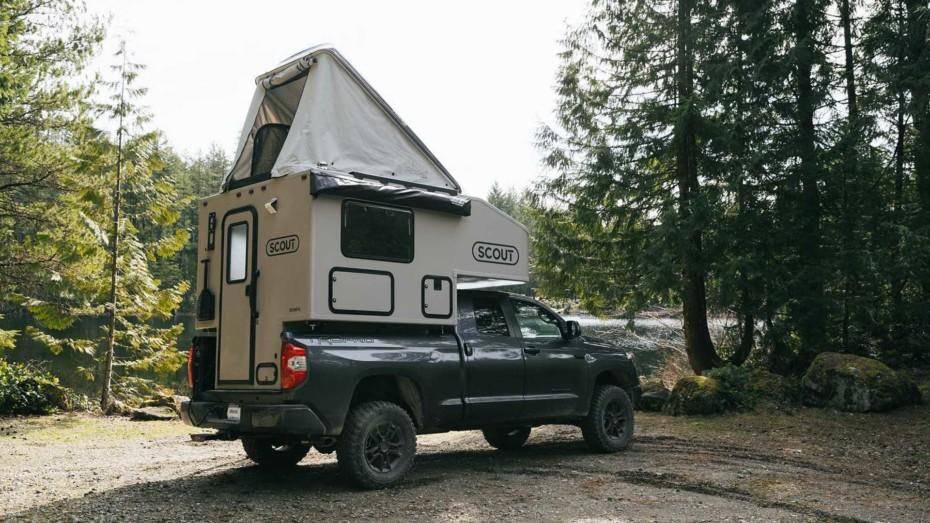 Si estás buscando camperizar tu pick up, te va a gustar la propuesta de Scout campers