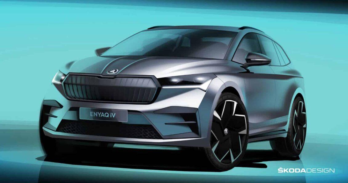 Nuevos detalles del Škoda ENYAQ iV: debutará en 20 días…
