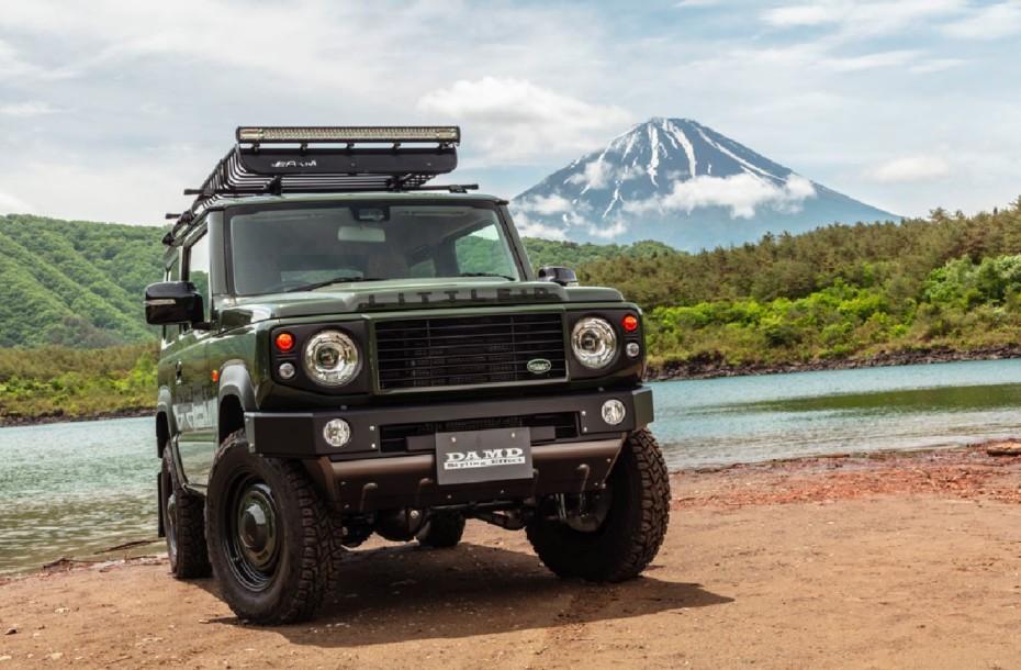 Convertir el Suzuki Jimny en un «mini» Land Rover Defender ya tiene precio
