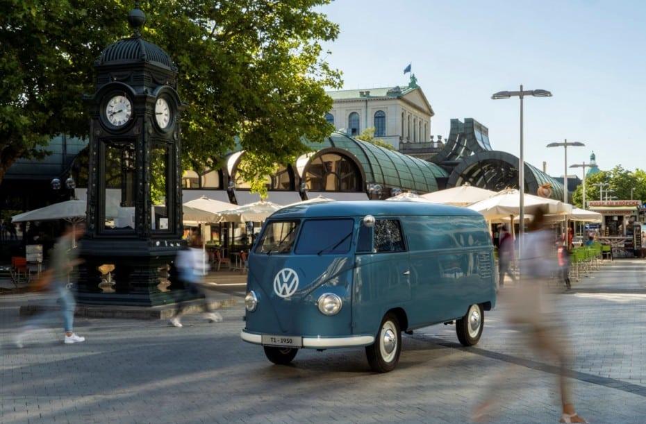 La «furgo» Volkswagen más antigua cumple 70 años