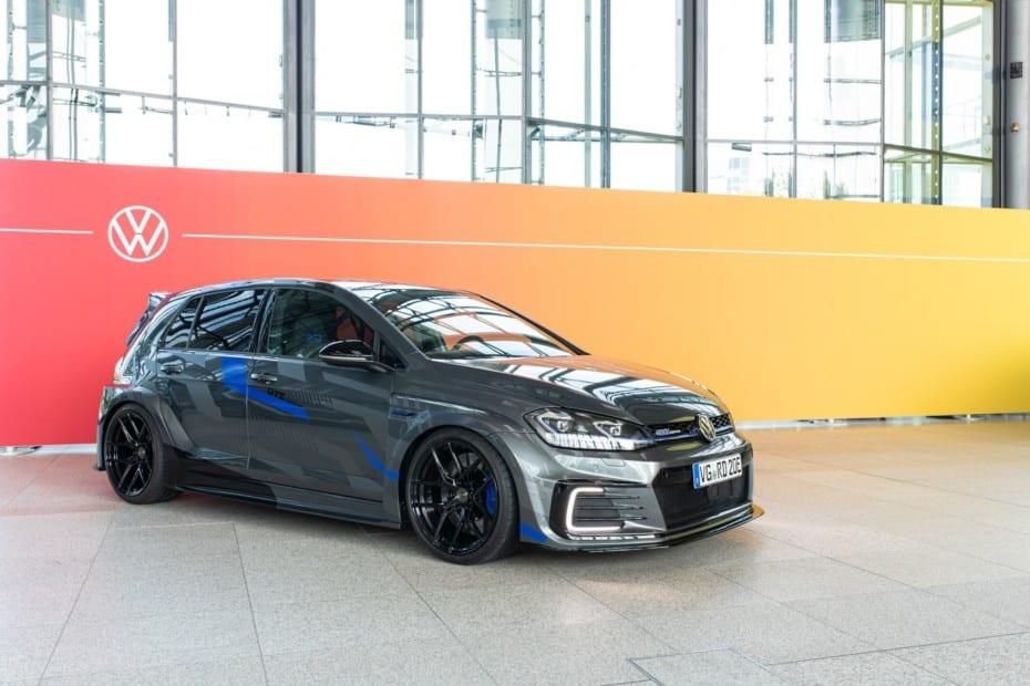 Así es el Golf GTE HyRACER de Volkswagen…