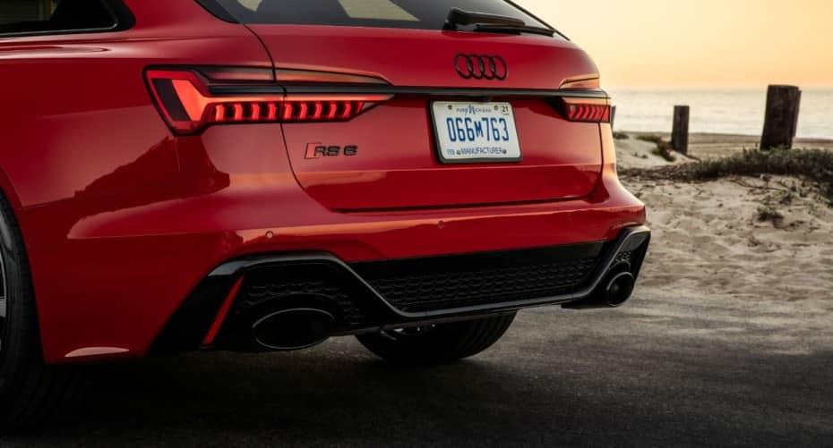 Akrapovič le mete mano al escape del Audi RS6: 15,5 CV de ganancia, menos peso y mejor sonido
