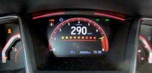 Así acelera de 0 a 290 km/h el Honda Civic Type R Limited Edition