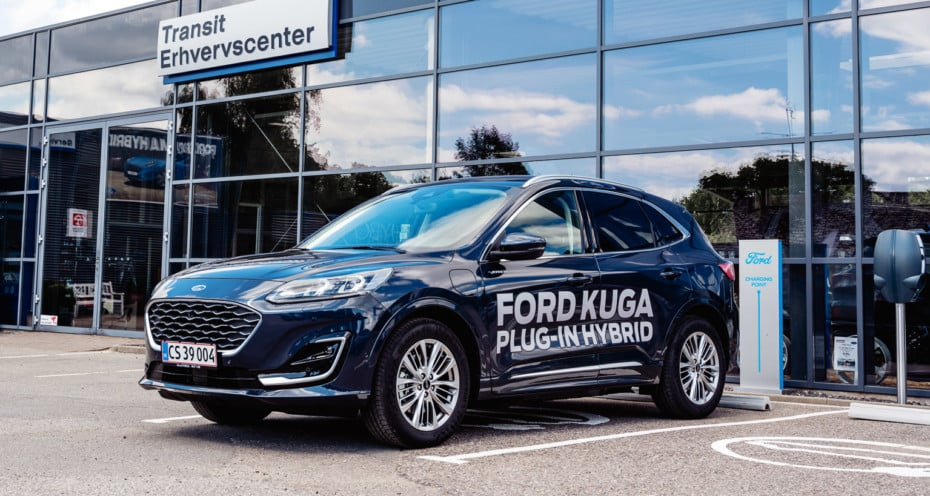 Ventas año 2020, Dinamarca: El Ford Kuga despega