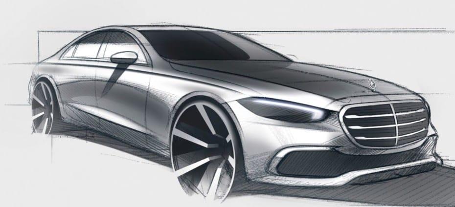 Último teaser del nuevo Mercedes-Benz Clase S antes de su debut