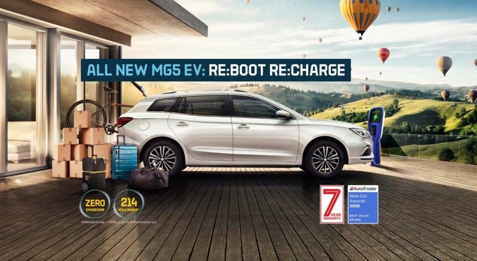 El nuevo MG5 EV llegará a Europa en septiembre