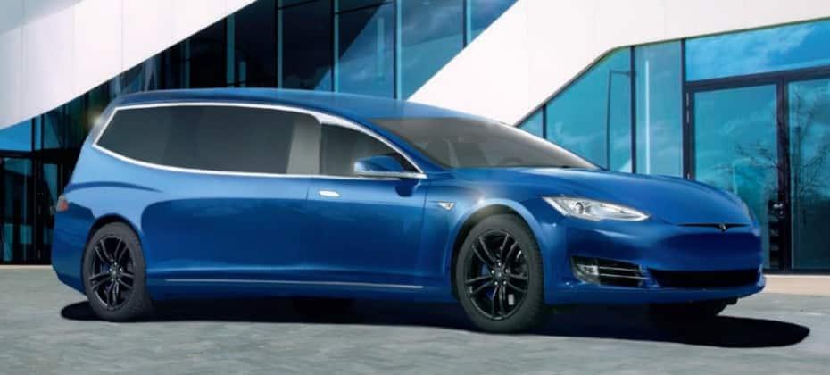 El aumento de los funerales «ECO» dispara la demanda de este Tesla Model S