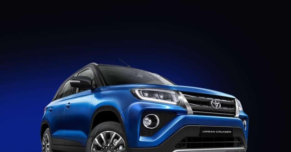 Primeras imágenes del Toyota Urban Cruiser para la India