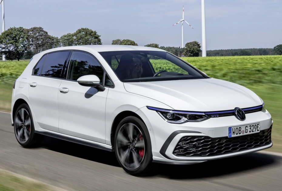 Nuevas imágenes de los interesantes Volkswagen Golf eTSI, eHybrid y GTE: