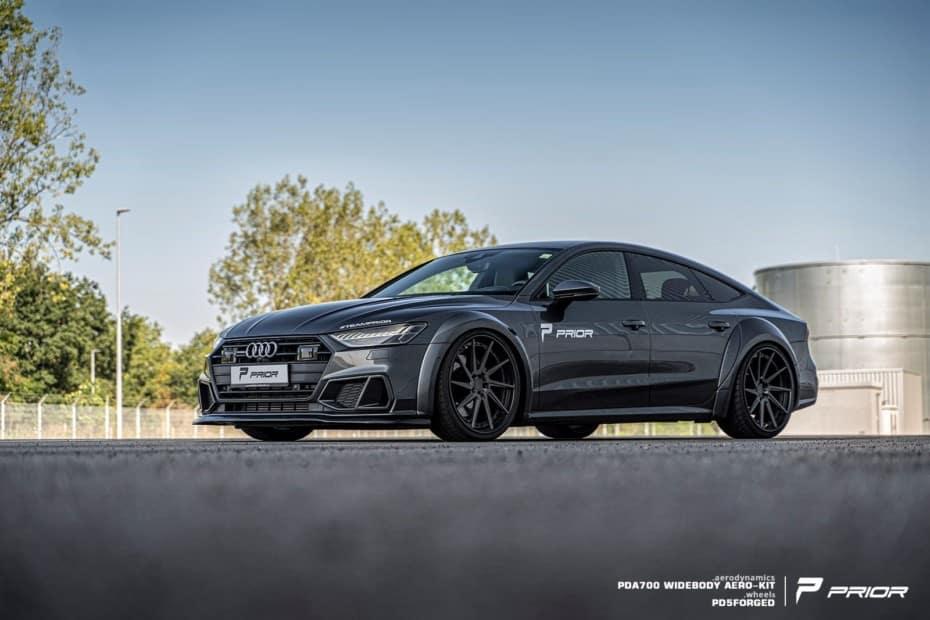 Las versiones ensanchadas de los Audi A7 Sportback y Mercedes-Benz CLS son puro músculo