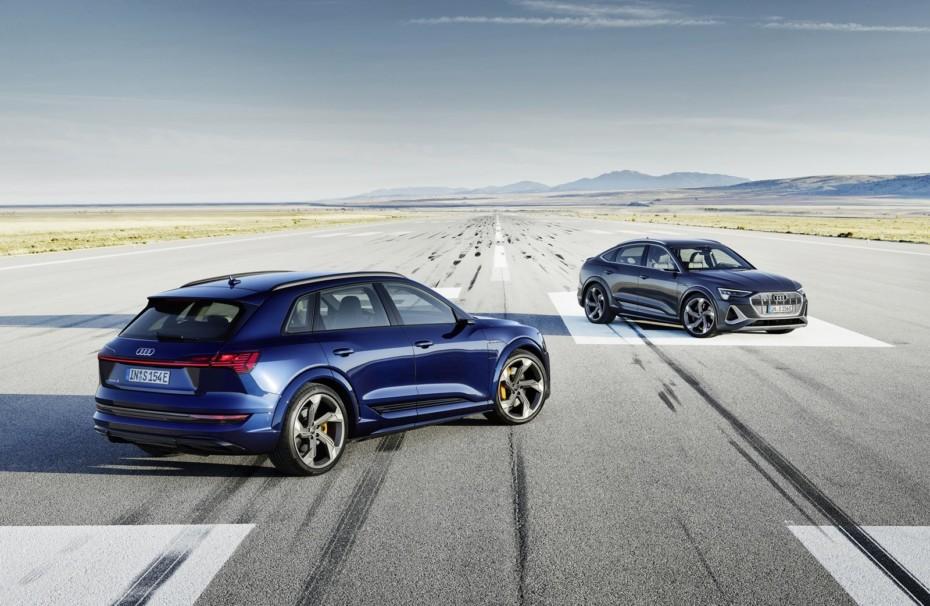 Audi e-tron S y Audi e-tron S Sportback 2021: Casi 500 CV y hasta 370 km de autonomía