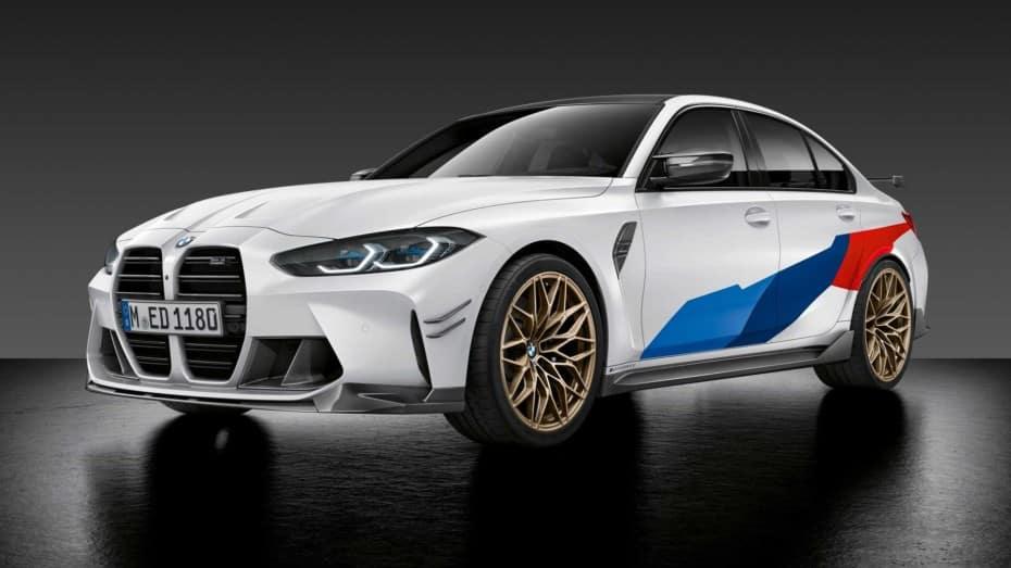 Los BMW M3 y M4 Coupé Competition son una auténtica locura con los accesorios M Performance