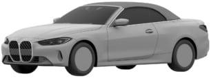 El nuevo BMW Serie 4 Cabrio se deja ver gracias a las imágenes del registro de patente