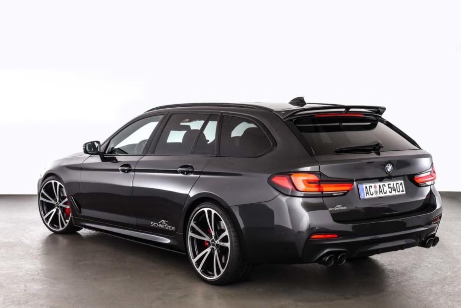 Más deportivo y con hasta 620 CV: La poderosa gama del BMW Serie 5 de AC Schnitzer