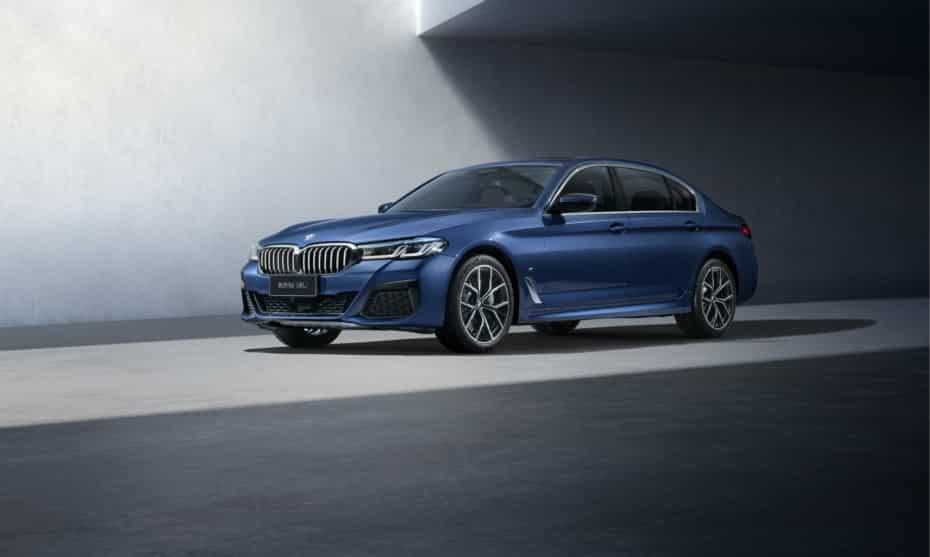Así es el BMW Serie 5 2020 de batalla larga: Solo para China