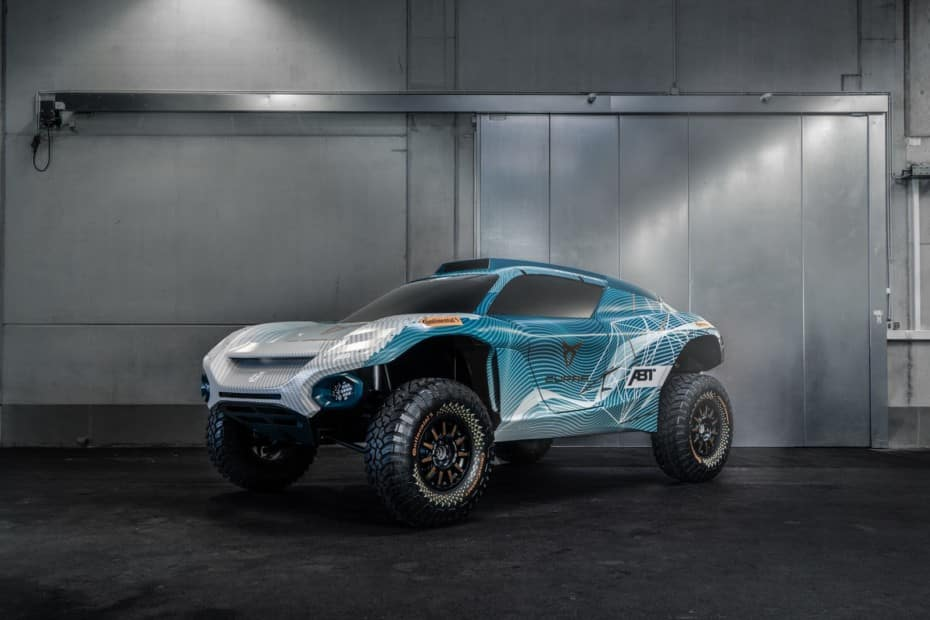 CUPRA y ABT participarán juntos en la esperada Extreme E: Así es su SUV eléctrico