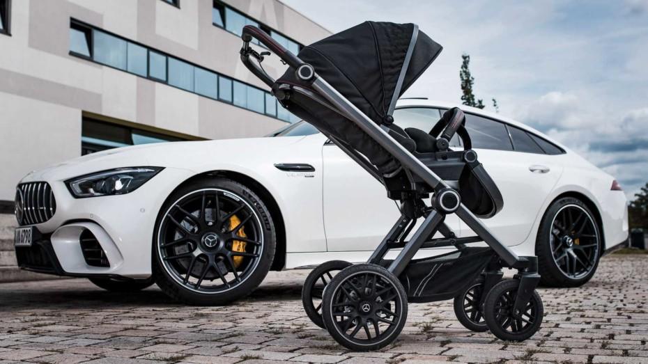 Construcción de aluminio, llantas AMG, asientos en grafito… A lo último de Mercedes solo le falta motor