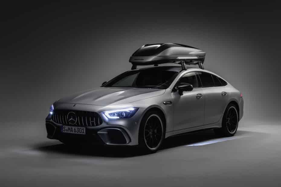 Atento a este cofre de techo diseñado por AMG: 410 litros extra con estilo y aerodinámica