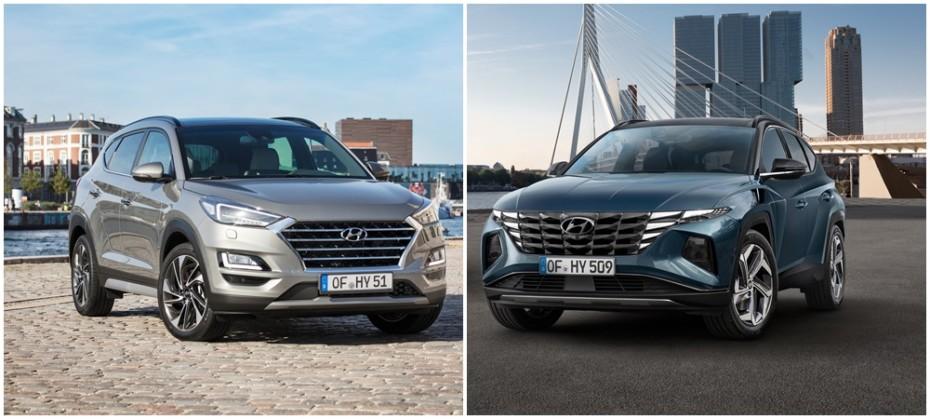 Comparación visual Hyundai Tucson 2021: Juzga tú mismo esta revolución en el diseño