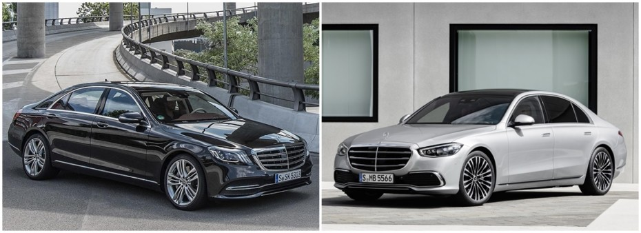 Comparación visual Mercedes-Benz Clase S 2021: ¿Crees que ha mejorado el buque insignia alemán?