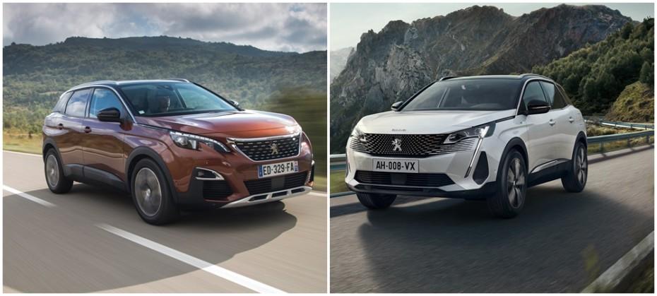 Comparación visual Peugeot 3008 2021: ¿Más atractivo tras las mejoras visuales?