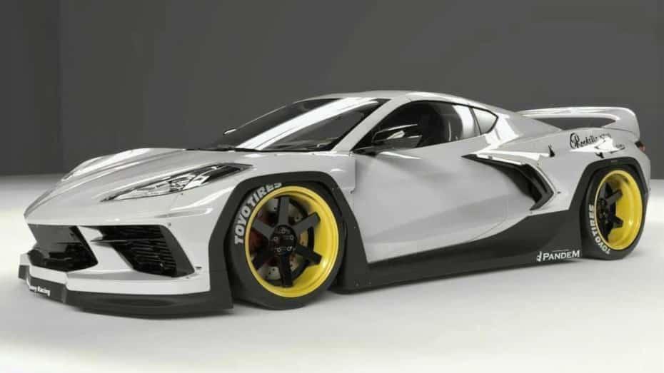 Si lo tuyo no es pasar desapercibido, te va a gustar esta salvaje propuesta para el Corvette