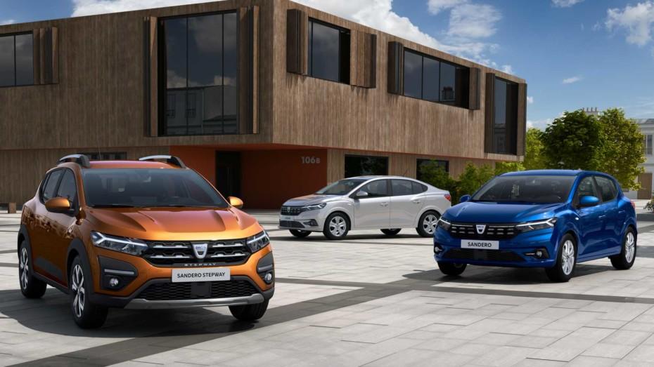 ¡Oficial! Primeras imágenes de los nuevos Dacia Sandero, Logan y Sandero Stepway 2021