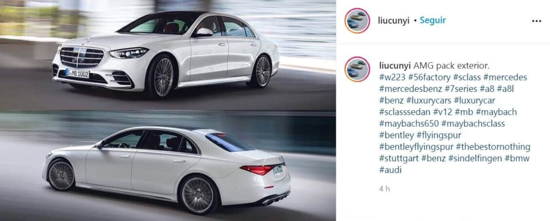 ¡Filtrado! Aquí tienes el Mercedes-Benz Clase S 2021 totalmente al descubierto ¿Qué te parece?