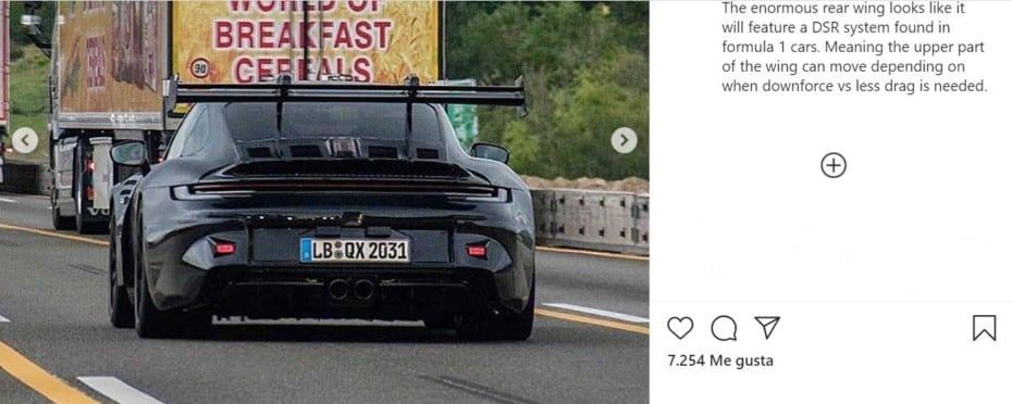 ¡Filtrado! Nuevas imágenes del Porsche 911 GT3 RS 2021: Aquí lo tienes desde todos los ángulos