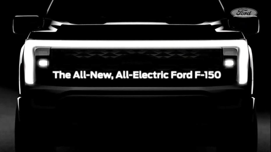 Primera imagen y detalles del Ford F-150 eléctrico: Será más poderoso que el Raptor