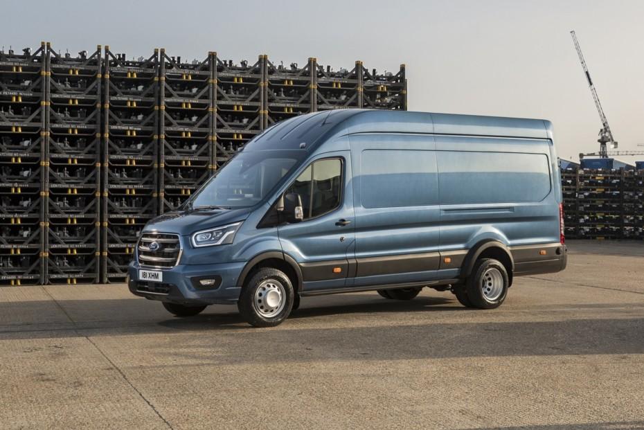 Llega la Ford Transit de 5 toneladas: la más capaz de la gama
