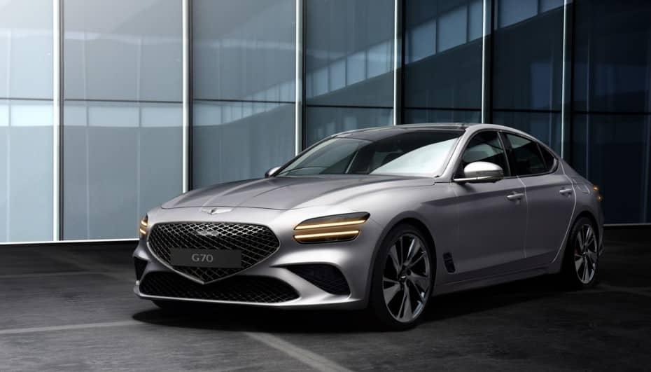 Así es el renovado Genesis G70: nuevo jaque a los alemanes