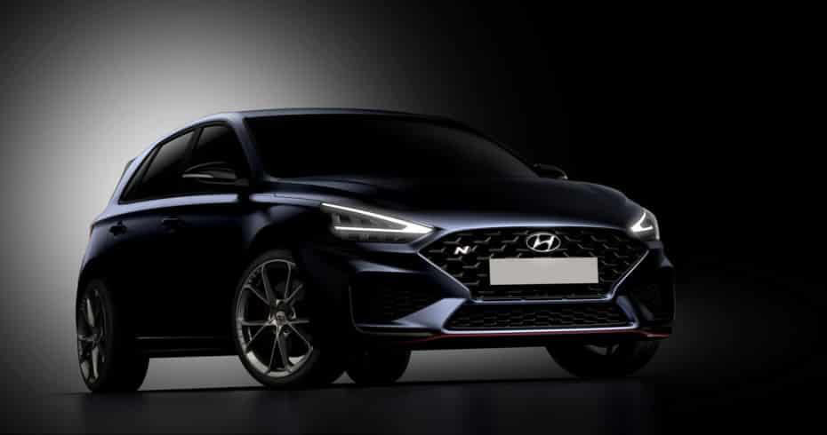 Primeras imágenes del nuevo Hyundai i30 N 2021: Más atractivo y con caja automática