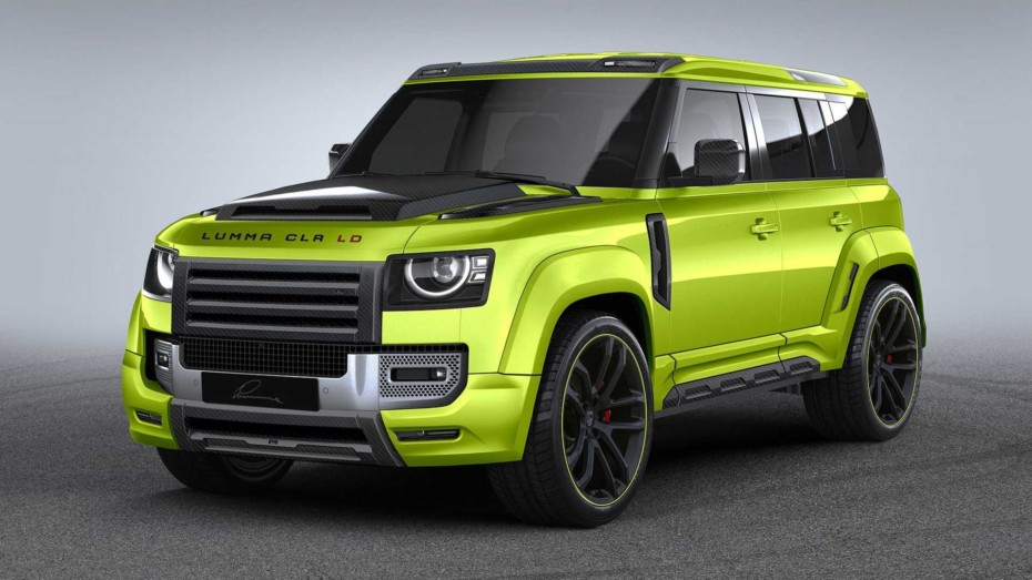 Lumma Design está preparando un Land Rover Defender que podría superar los 600 CV