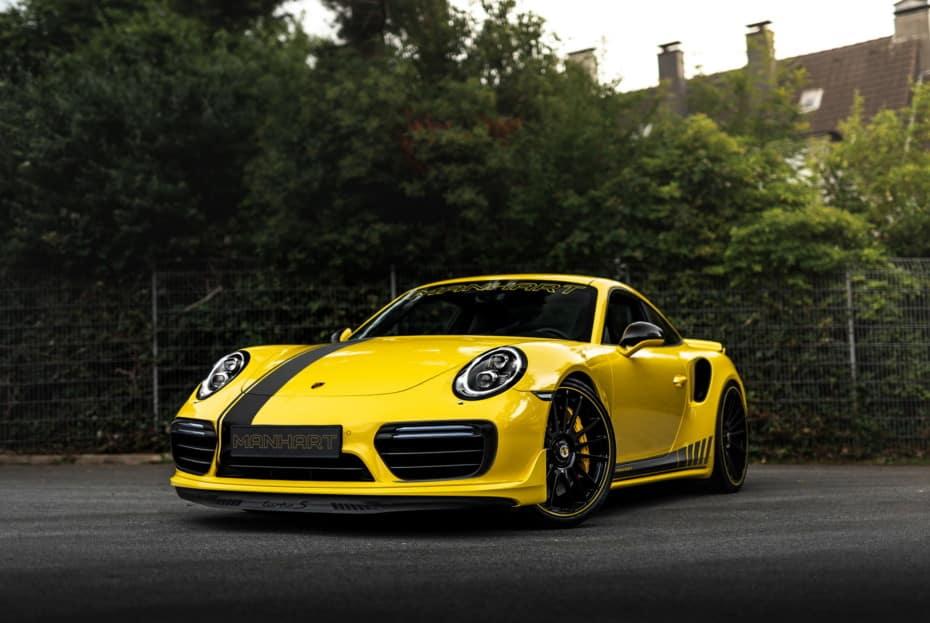 Hasta 850 CV y una estética de infarto para el Porsche 911 Turbo S de Manhart