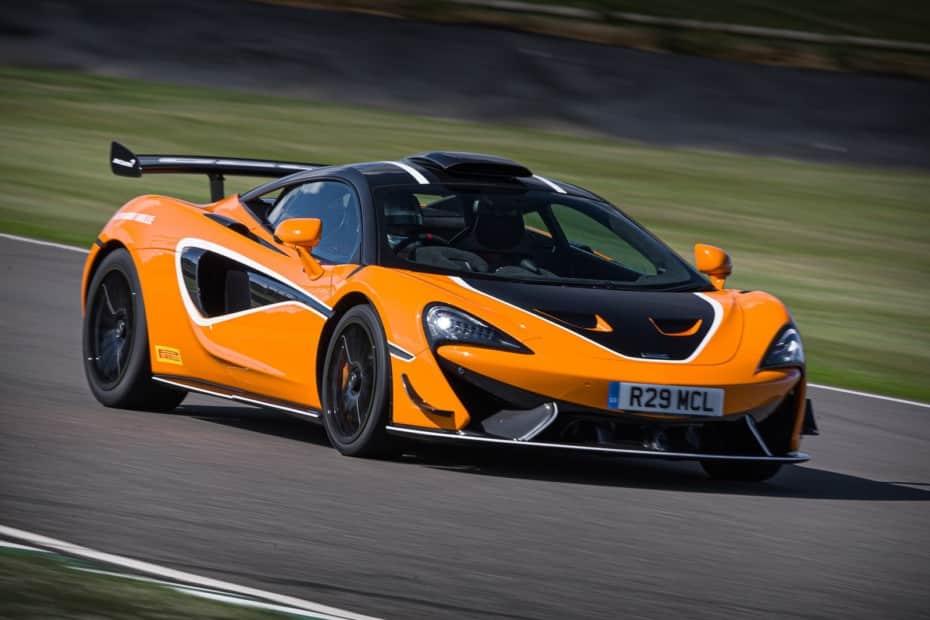 McLaren nos muestra el «Pack R» para el 620R: cuesta lo mismo que un SEAT León…