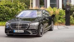 Mercedes-Benz Clase S 580 e: El híbrido enchufable que llegará en 2021 junto a poderosos AMG