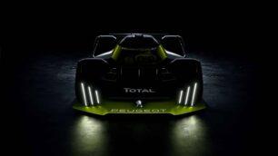 Así luce el proyecto Le Mans Hypercar (LMH) de Peugeot y Total: 670 CV