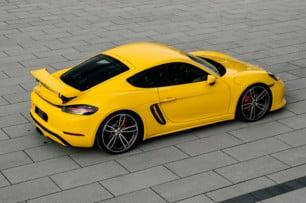 Aspecto de GT4 y dosis de potencia extra para los Porsche 718 Boxter y Cayman