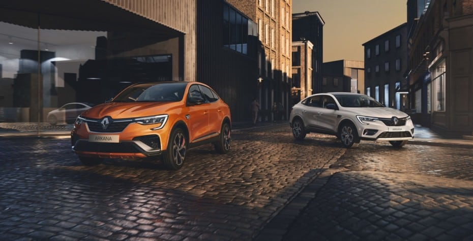 ¡Oficial! Así es el Renault Arkana 2021 que veremos en Europa: Atractivo y en gasolina o híbrido