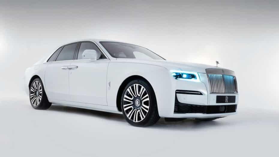 Así es el nuevo Rolls-Royce Ghost, el modelo más avanzado de la historia de la marca