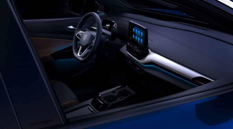 Volkswagen nos muestra el interior del ID.4: Mucha tecnología y generoso maletero