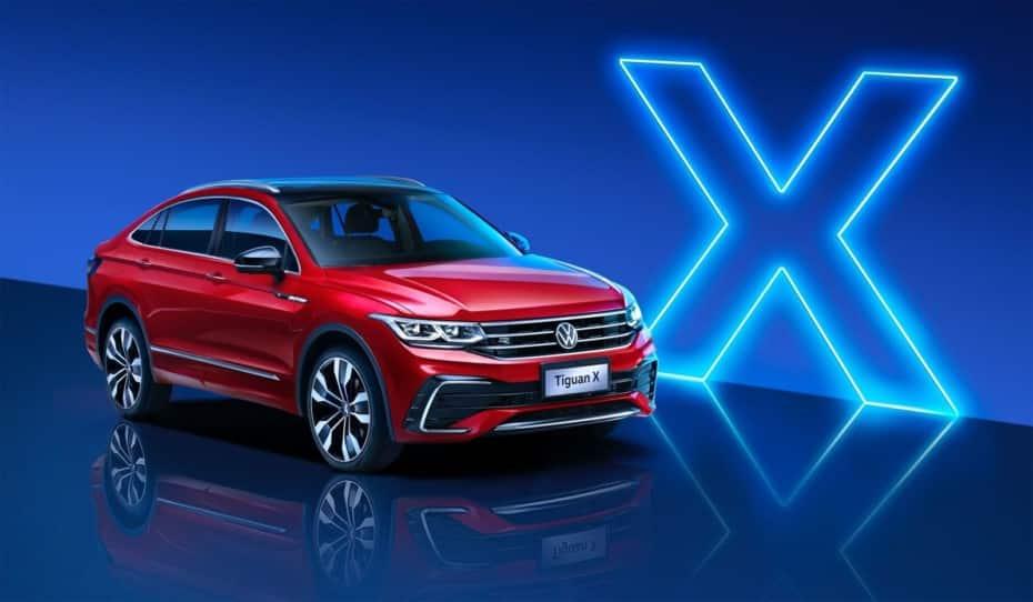 Volkswagen nos muestra el Tiguan X con su «corte coupé»