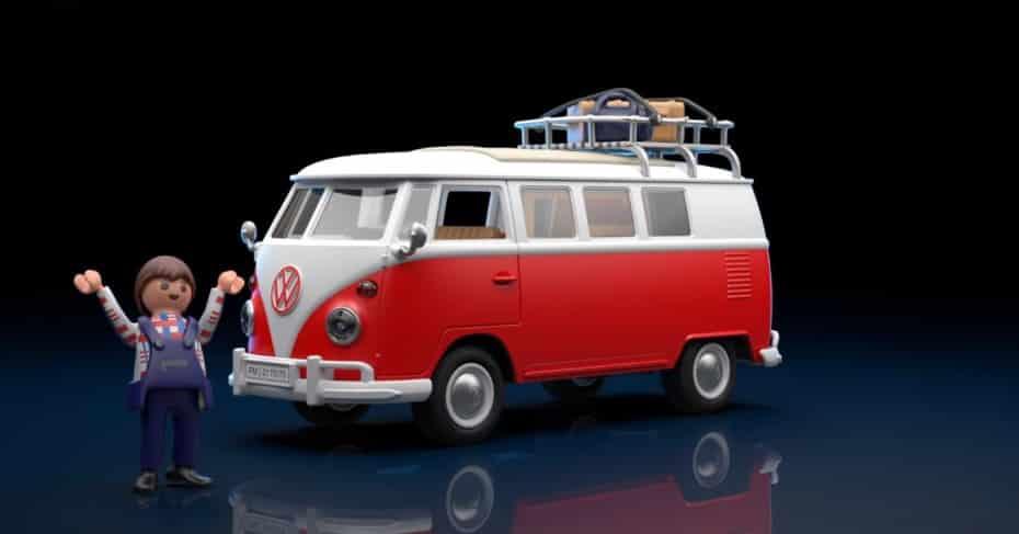 Playmobil hará que te gastes el dinero: el set Volkswagen T1 Samba Bus llegará en 2021