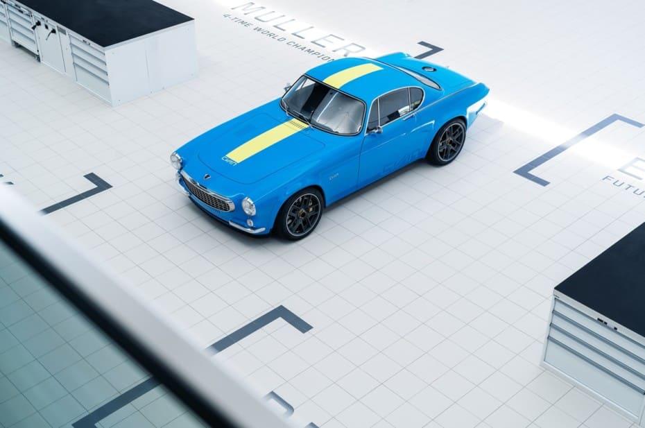 Nuevos detalles del Volvo P1800 Cyan: un deportivo de los sesenta con tecnología de 2020