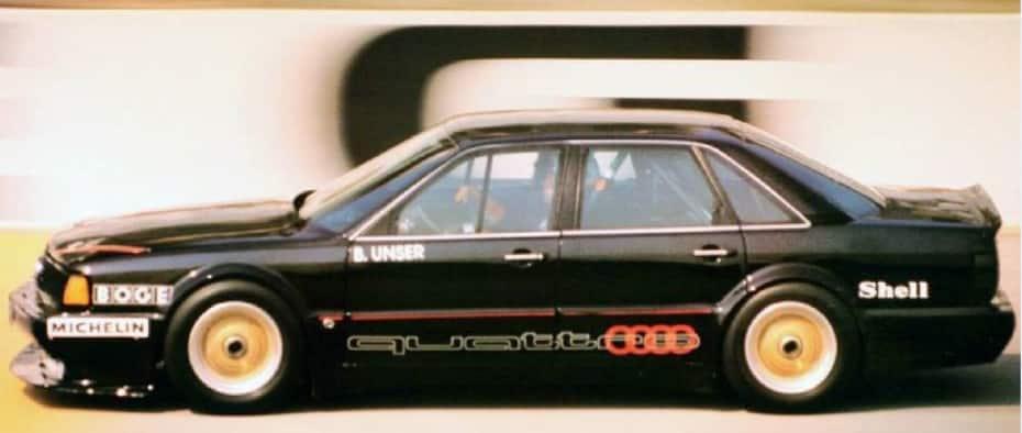 Audi 5000 CS Turbo quattro 25v: «la bestia de Talladega»