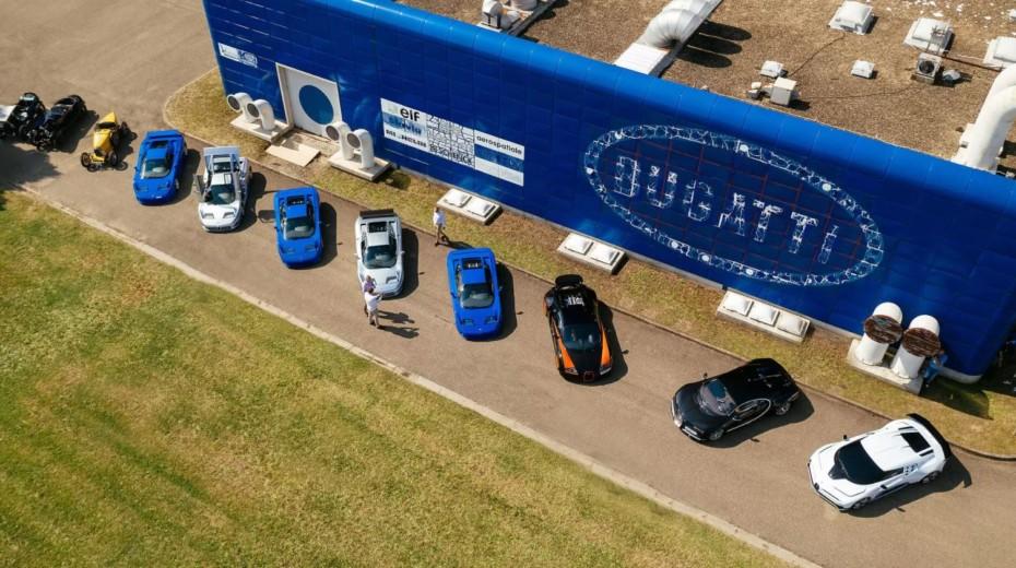 Parece que Volkswagen quiere deshacerse de Bugatti: Rimac podría ser su futuro propietario