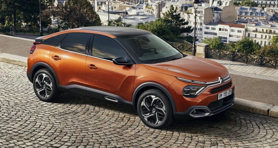 Detalle de equipamiento del nuevo Citroën C4 para España